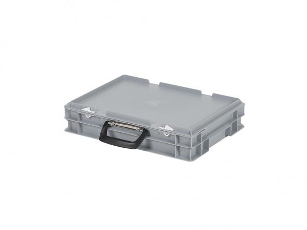 Koffer - 400x300xH90mm - grijs