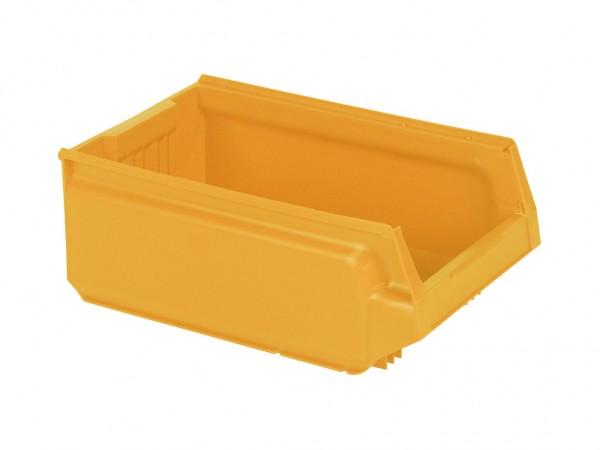 Kunststof magazijnbak - 500x310xH200mm - geel