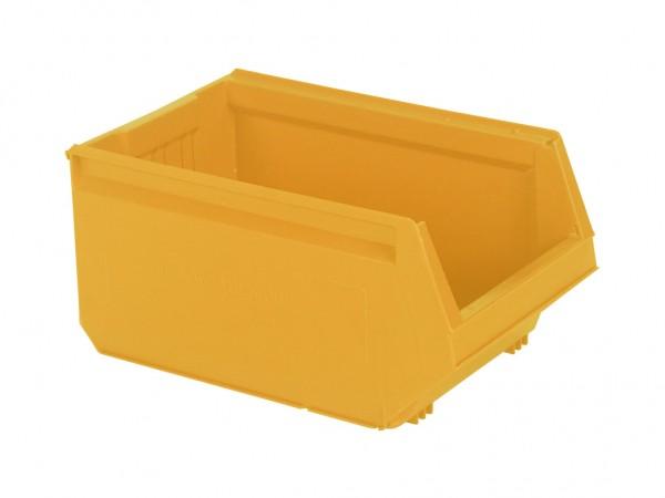 Kunststof magazijnbak - 500x310xH250mm - geel