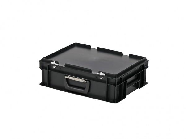 Koffer - 400x300xH133mm - zwart
