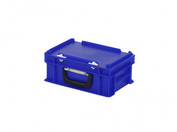 Koffer - 300x200xH133mm - blauw